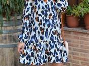 SHEIN Spring Collection Vestido estampado animal