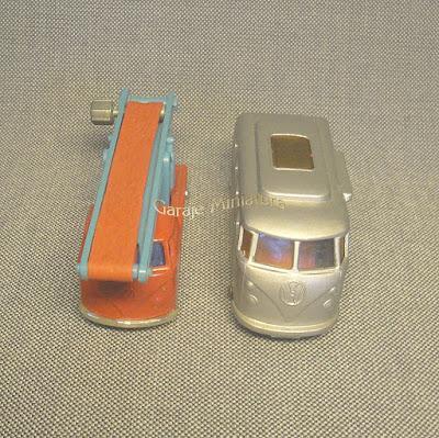 Volkswagen en dos versiones de Husky y Matchbox