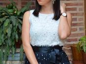 SHEIN Spring Collection Maxi falda lunares