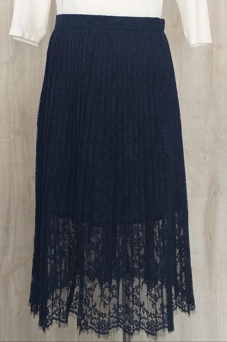 Falda Azul Hm