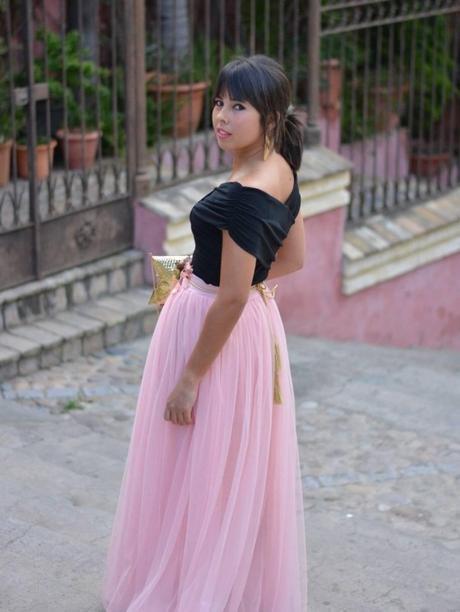 Fiesta Elegantes Faldas De Tul