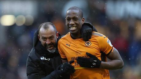 Mendes le afila los colmillos al Wolverhampton