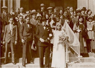 Boda de Àngel Ribera i Arnal - 1932