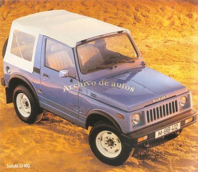 Suzuki SJ 410 de 1983