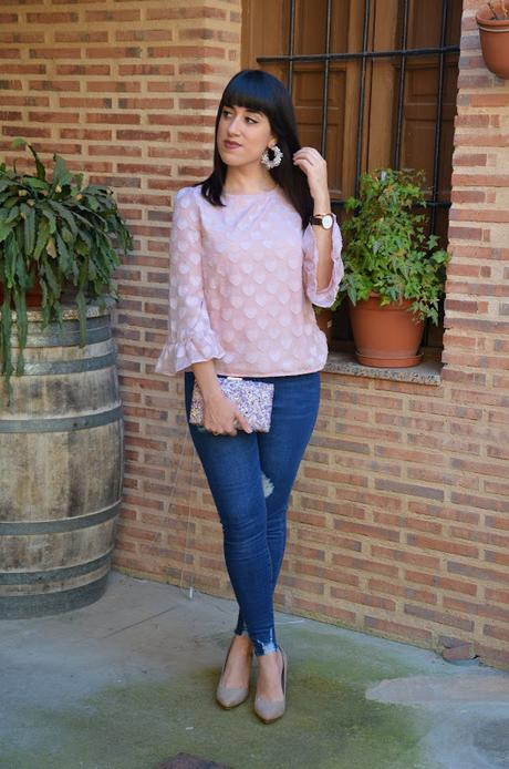 SHEIN Spring Collection | Top relieve corazones