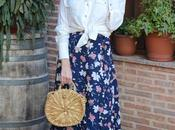 SHEIN Spring Collection maxi falda flores