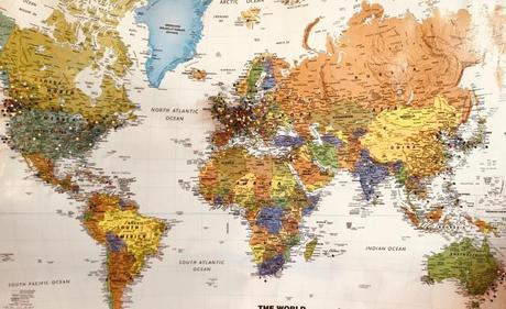 Los colores de los países ante la crisis del Coronavirus
