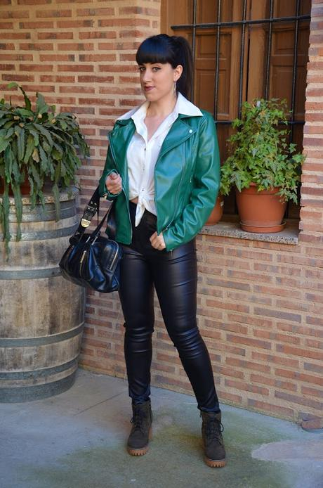 SHEIN Spring Collection |  Leather look