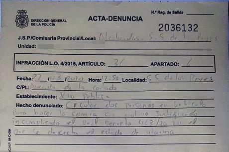 Harry el sucio llega a España con el coronavirus