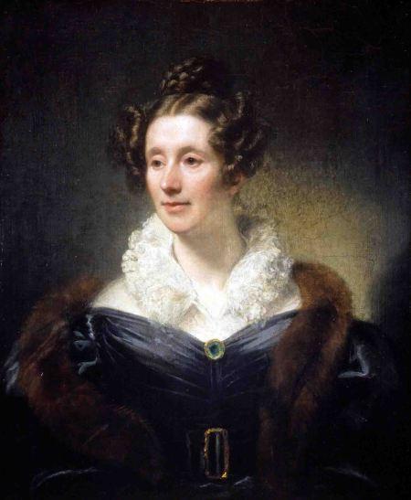 Retrato de Mary Somerville en Edimburgo