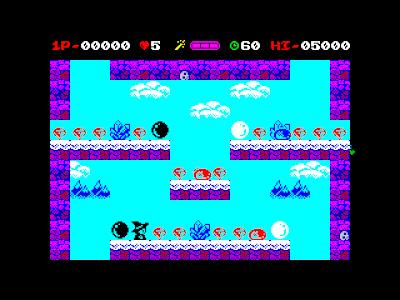 Black & White para ZX Spectrum a puntito de caramelo