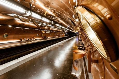 El Nautilus en el metro de París