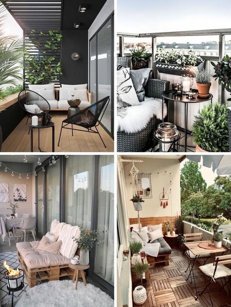 25 ideas para decorar tu balcón
