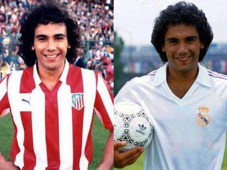 Futbolistas que jugaron en el Atlético y en el  Real Madrid