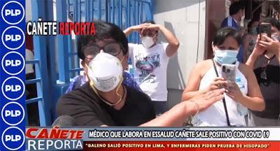 Coronavirus: LA OTRA CARA DE ESSALUD – CAÑETE...