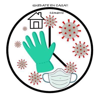 Yo me quedo en Casa. Este virus lo paramos unidos. Día 13 de Confinamiento. Estado de Alarma.