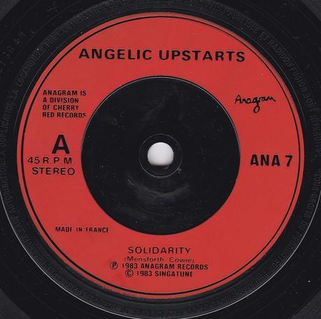 Angelic upstarts -Solidarity Maxisingle 1985