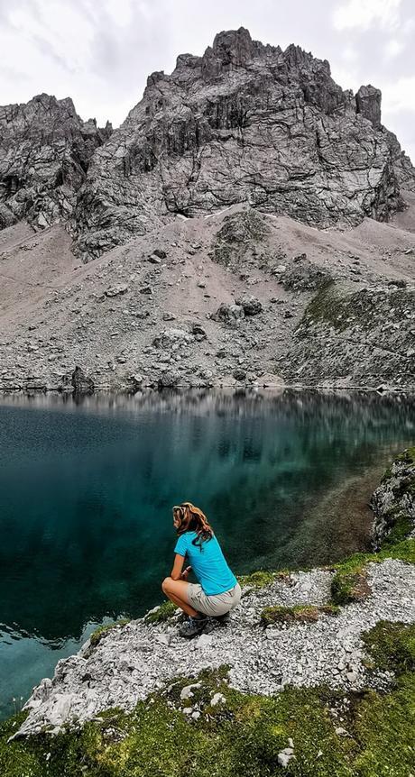 Dolomitenhütten, trekking