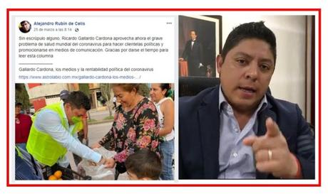 Lupillo Gonzáles denuncia nuevamente ataques de Ricardo Gallardo Cardona