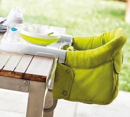 trona portatil sin necesitar silla