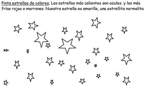 Dibujos astronómicos para descargar y colorear