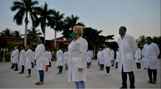 Médicos cubanos van a Andorra