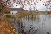 Paraje pintoresco del lago de Banyoles