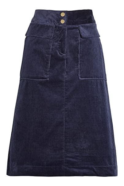 Falda Pana Azul