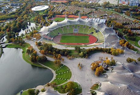 El Olympiastadion es uno de los recintos que ya son historia del fútbol.