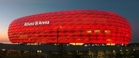el Olímpico de Munich dio paso al Allianz Arena