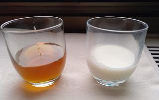 Mascarilla de leche y miel para el pelo
