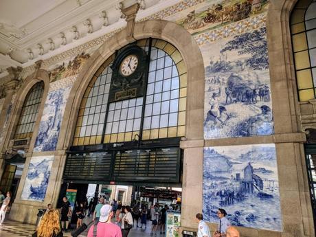 Estación de trenes de Porto San Bento