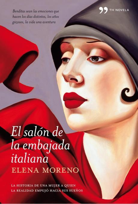 Reseña: El salón de la embajada italiana, Elena Moreno