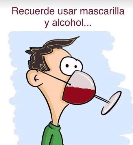 cuarentena alcohol