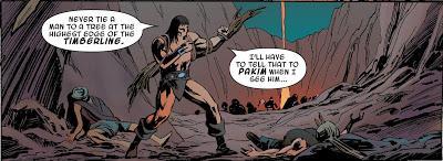 Ni siquiera para los viejos nunca es tarde: La espada salvaje de Conan nº 6, R. Thomas y A. Davis, Marvel-Panini 2020
