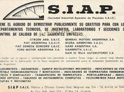 SIAP, marca instrumental Argentina