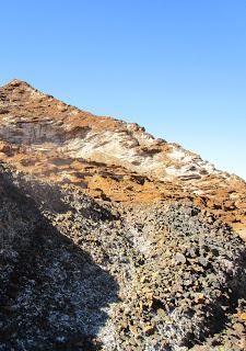 La Unión, Sierra de Cartagena, Murcia.Un paseo geológico por las faldas del Sancti Spiritus