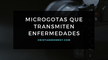 Microgotas que transmiten enfermedades