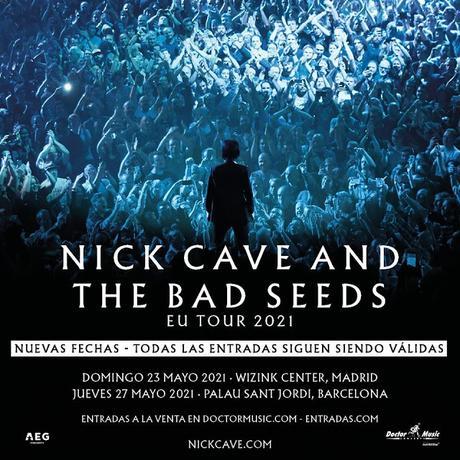 Los conciertos de Nick Cave en WiZink Center y Palau Sant Jordi serán finalmente en mayo de 2021