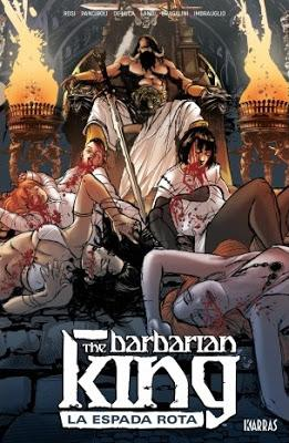 Critiquita 498: The Barbarian King nº 1, M. Rosi, A. Landi et al, Karras 2019
