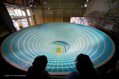 El estadio para un millón de espectadores