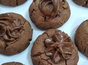 Galletas craqueladas fáciles crema chocolate. receta para disfrutar pequeños