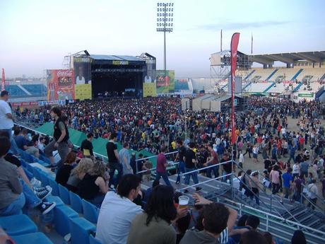 Vídeos de conciertos: Pearl Jam el 9 de junio de 2007 en el estadio de Butarque de Leganés