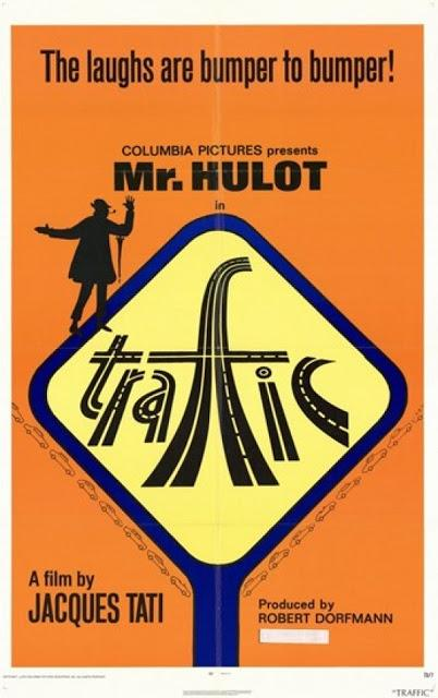 Pósters de Traffic de Jacques Tati