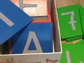 Cómo hacer letras lija-fieltro Montessori