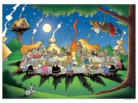 Astérix y la salchicha de Toulouse. (In memoriam Uderzo).