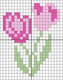Free Diseño de tulipanes