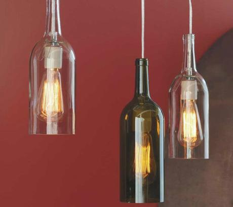 manualidades con botellas de cristal
