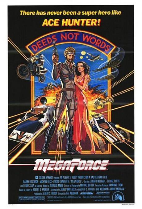 """Recordando trailers de antaño: """"Megaforce"""""""
