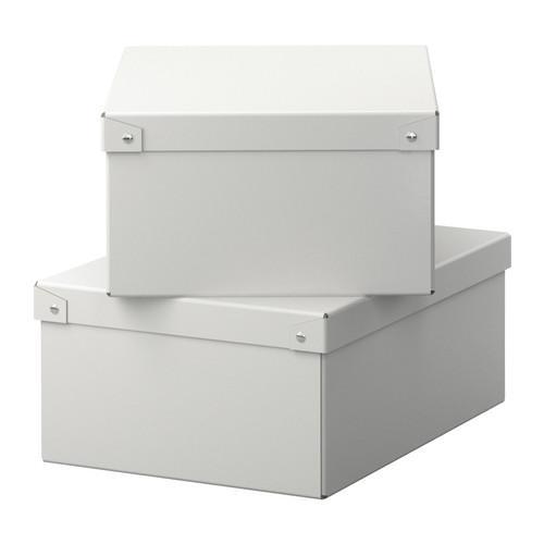 Ikea hack caja de zapatos con ventana paperblog - Cajas de ikea ...
